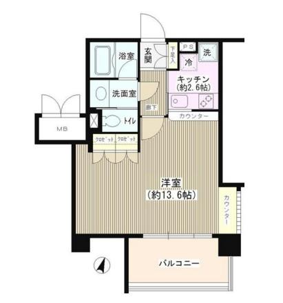 アゼリアテラス新宿215号室