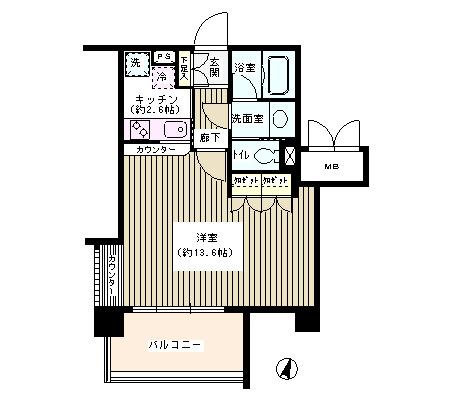 アゼリアテラス新宿310号室