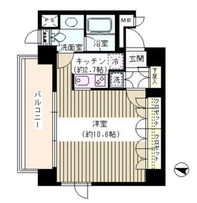 アゼリアテラス新宿405号室