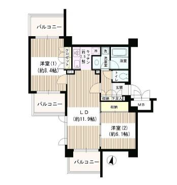 アゼリアテラス新宿420号室