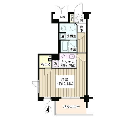 アゼリアテラス新宿509号室