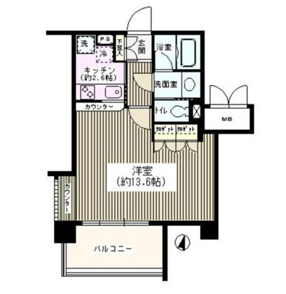 アゼリアテラス新宿515号室