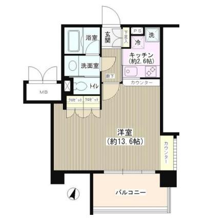 アゼリアテラス新宿517号室