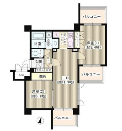 アゼリアテラス新宿604号室