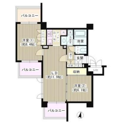 アゼリアテラス新宿904号室