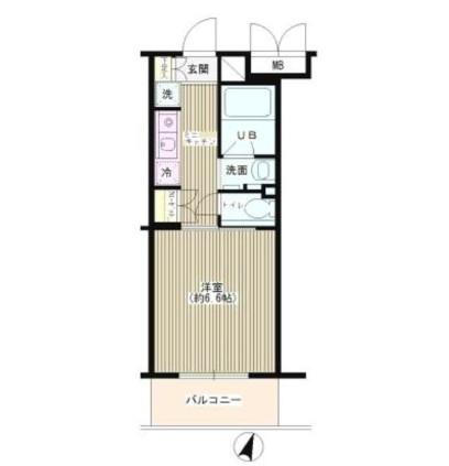 TSハイム新宿206号室