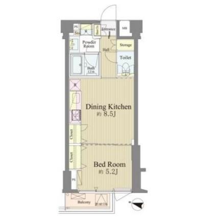 神楽坂南町ハウス210号室