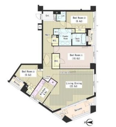 外苑レジデンス303号室