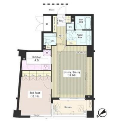 外苑レジデンス306号室