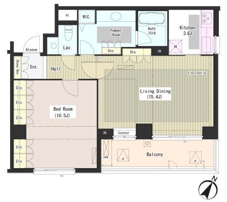 外苑レジデンス309号室