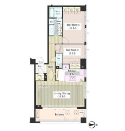 外苑レジデンス401号室