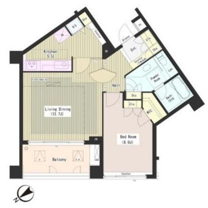 外苑レジデンス405号室