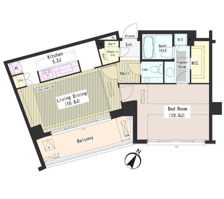 外苑レジデンス411号室