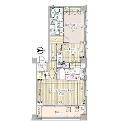 外苑レジデンス501号室