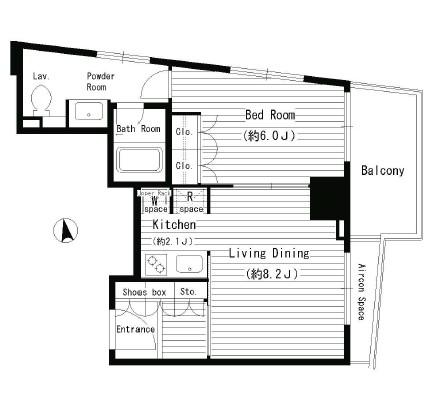 レガーロ西早稲田1103号室