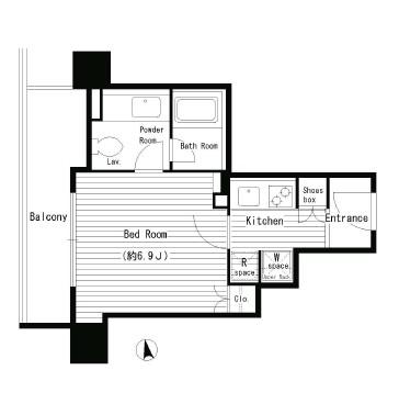 レガーロ西早稲田410号室