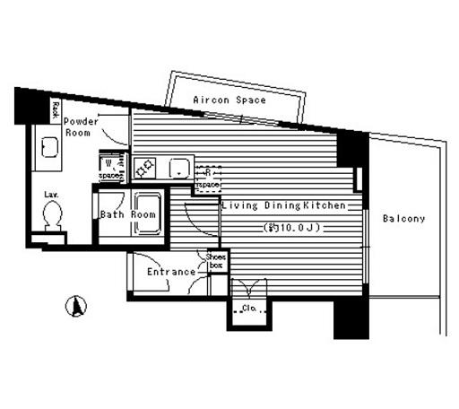 レガーロ西早稲田505号室