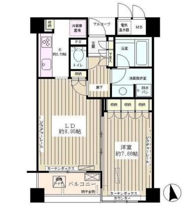エル・セレーノ西早稲田206号室