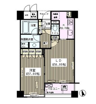 エル・セレーノ西早稲田305号室