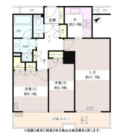 西早稲田パーク・タワー502号室