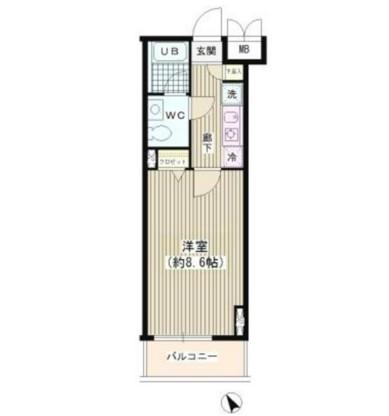 ラ・シャトン西早稲田303号室