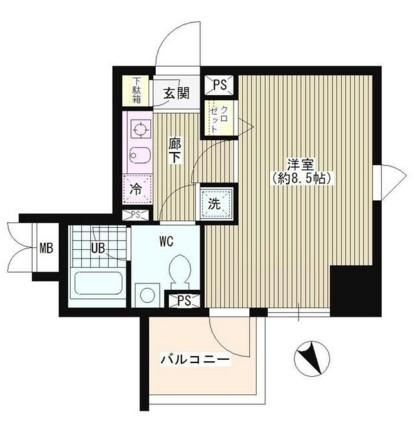 ラ・シャトン西早稲田501号室