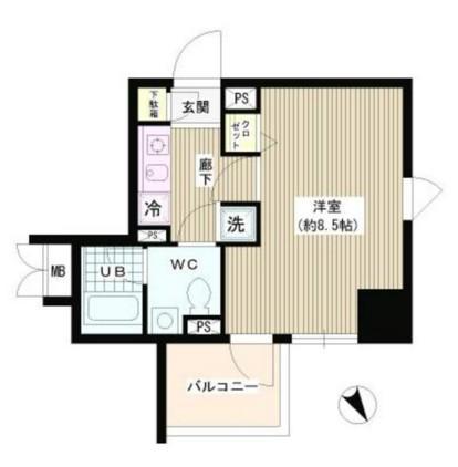 ラ・シャトン西早稲田801号室