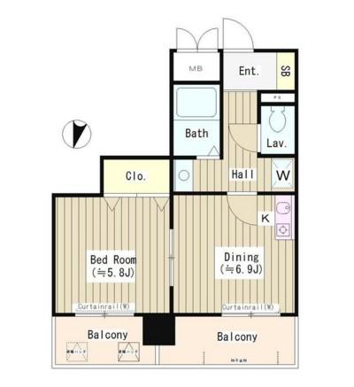 エスタシオン西新宿402号室