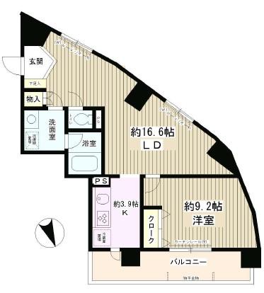 エスタシオン西新宿601号室