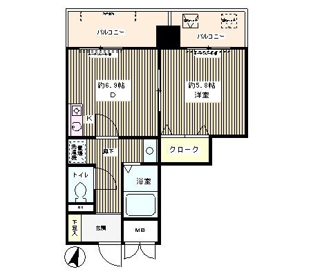 エスタシオン西新宿602号室