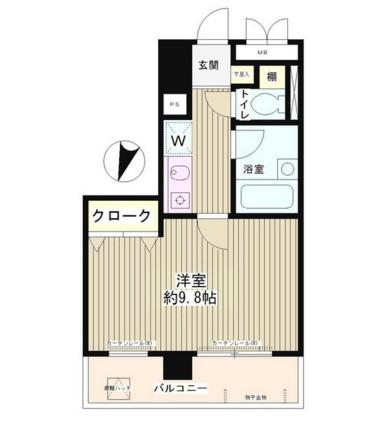 エスタシオン西新宿703号室