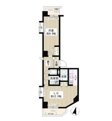 エスタシオン西新宿804号室