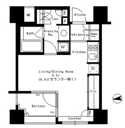 パークアクシス神楽坂ステージ704号室