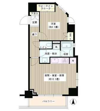 グローリオ東新宿1203号室