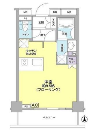 グローリオ東新宿802号室