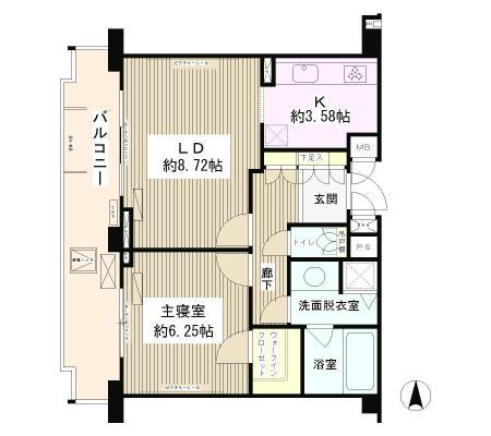 プランシェール落合307号室