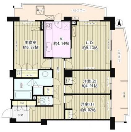 プランシェール落合605号室