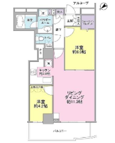 セントラルレジデンス新宿シティタワー1603号室
