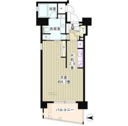 スカーラ四谷第2203号室