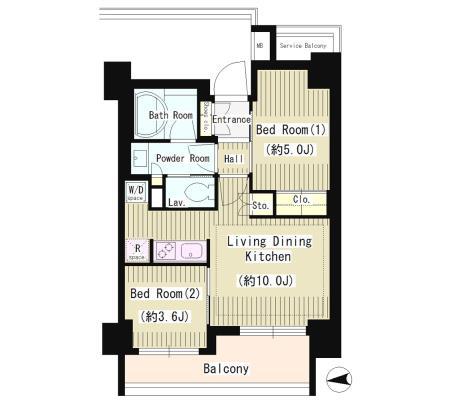 パークホームズ四谷三丁目アーバンレジデンス304号室