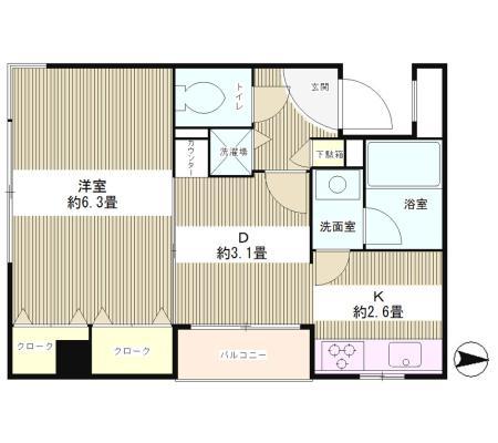 四ツ谷HOUSE104号室