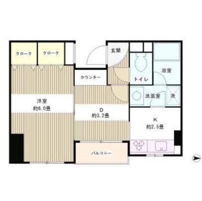 四ツ谷HOUSE105号室