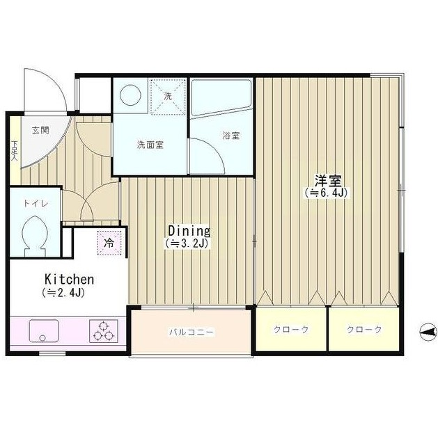 四ツ谷HOUSE201号室