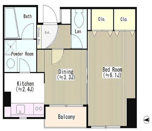 四ツ谷HOUSE204号室