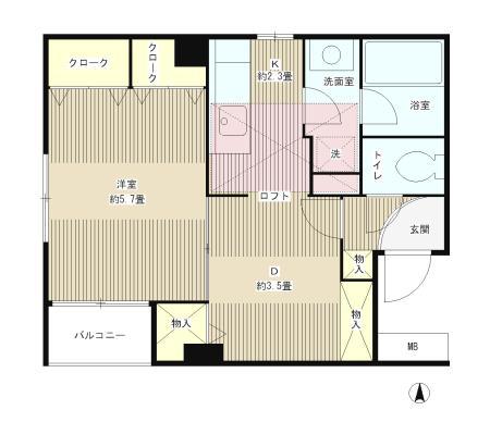 四ツ谷HOUSE303号室