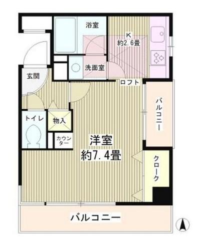 四ツ谷HOUSE304号室