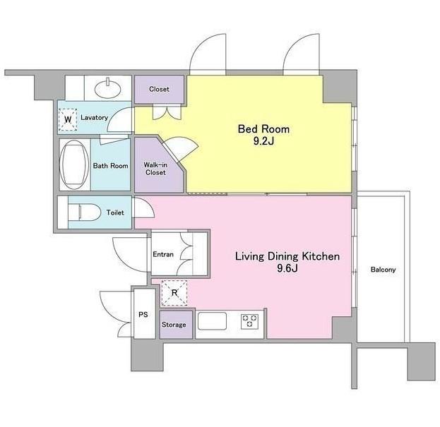 ランテンヌ四谷205号室