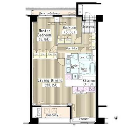ランテンヌ四谷507号室
