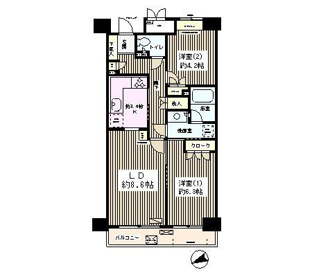 高田馬場パーク・ホームズ202号室