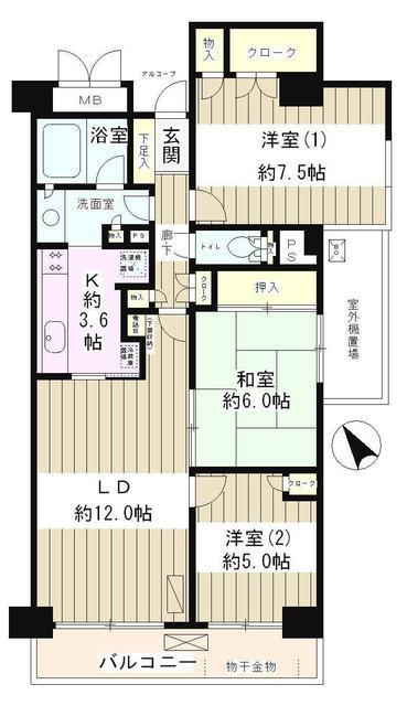 高田馬場パーク・ホームズ210号室